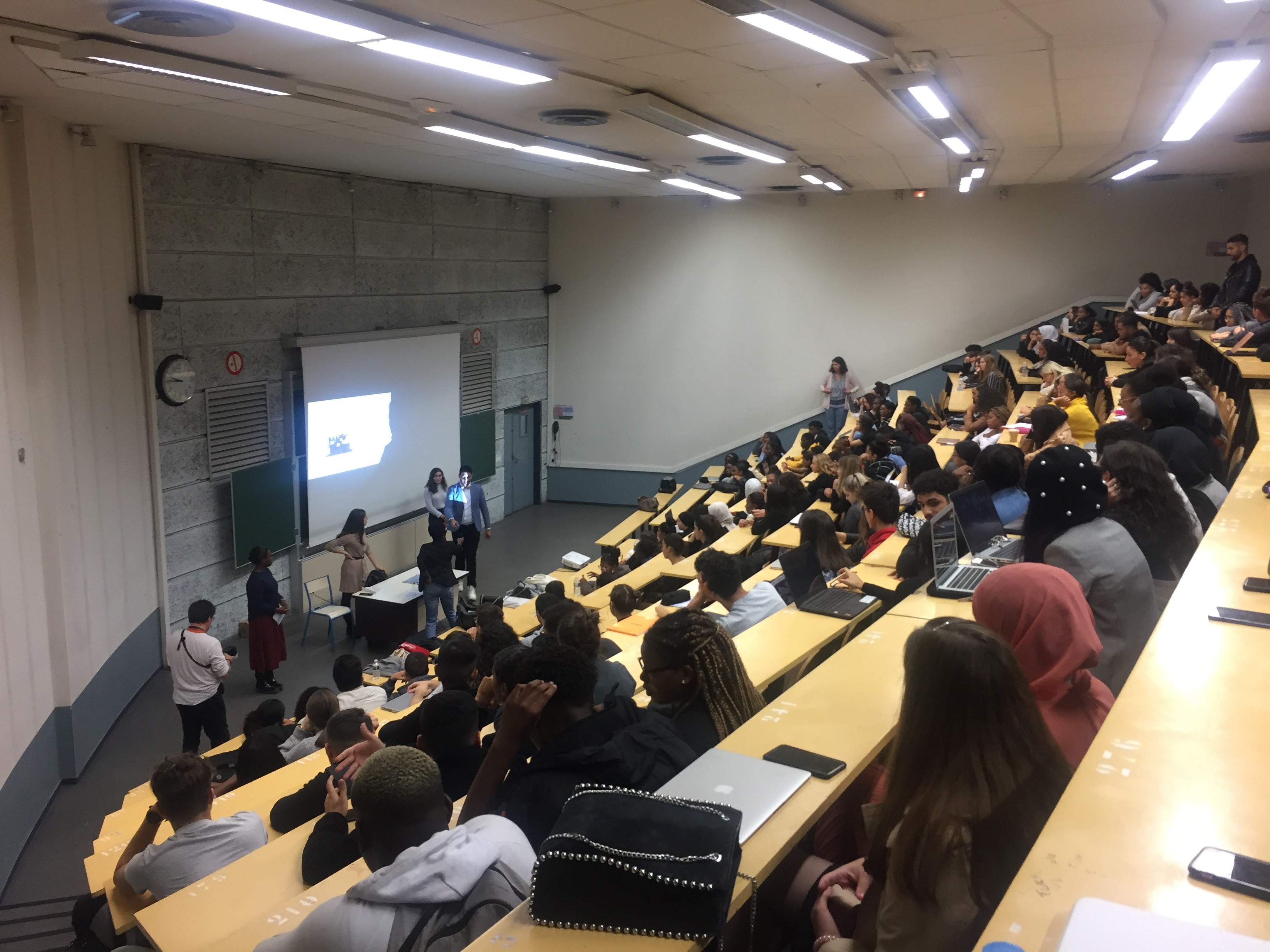 Photo de A la rencontre des étudiants