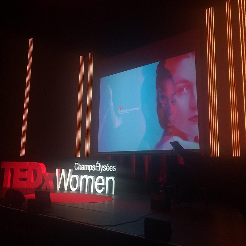 Photo de Conférence TEDx Champs-Elysées Women