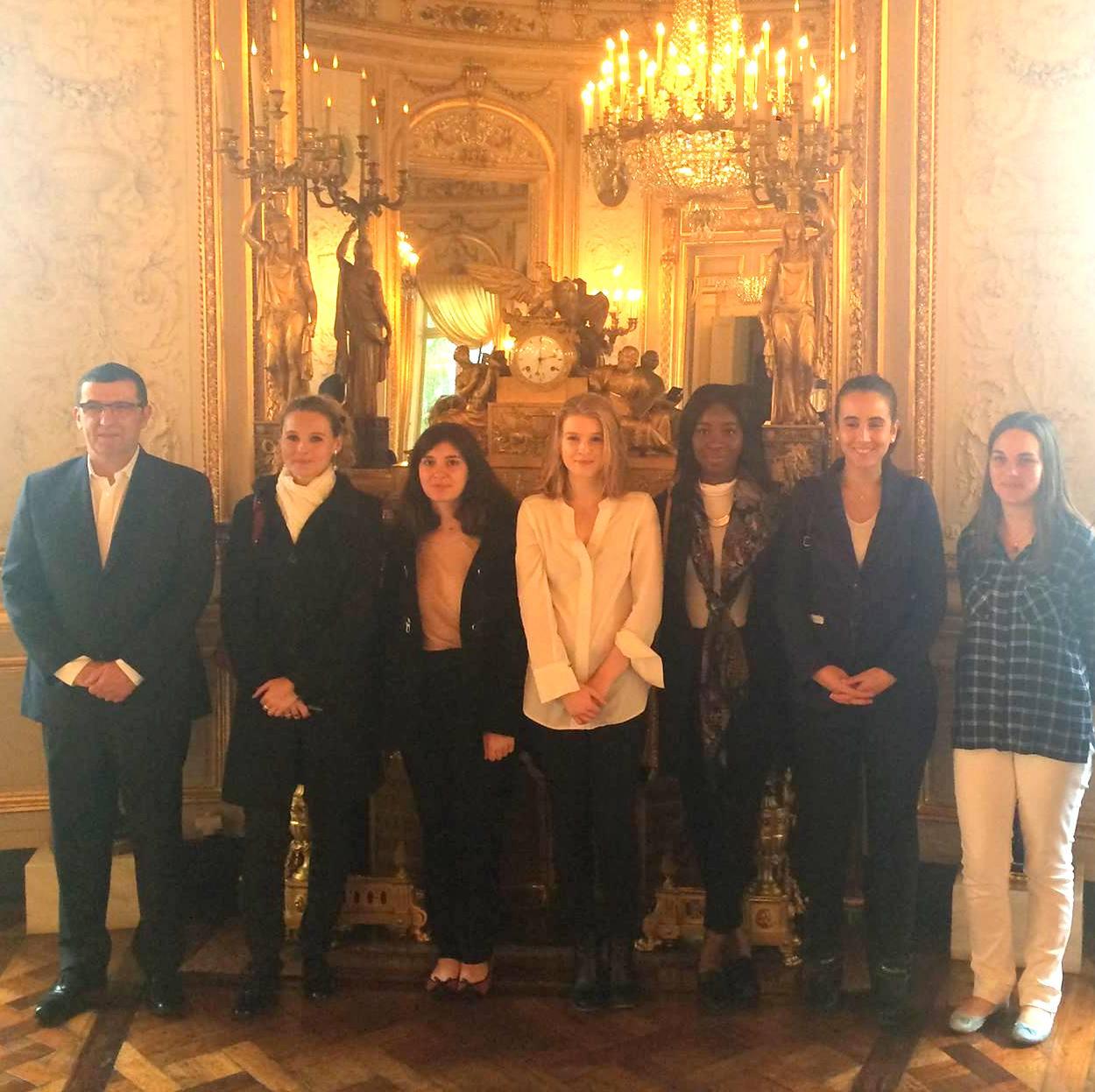 Photo de Visite de La Grande Chancellerie de la Légion d'Honneur